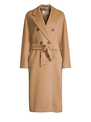 Max Mara - Madame Wool   Cashmere Double Breasted Jacket 6551d56fa2f