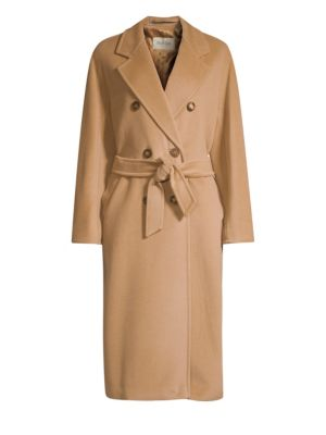 madame-wool-&-cashmere-double-breasted-jacket by max-mara
