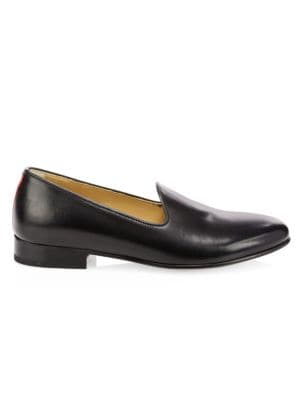 DEL TORO Leather Loafers in Black