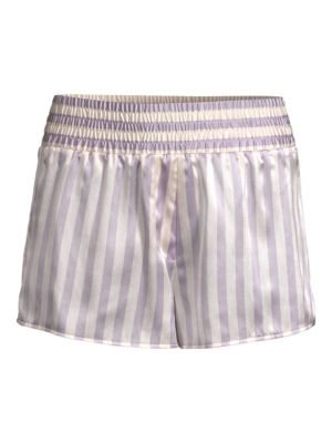 Morgan Lane Fluff Stripe Bunny Corey Shorts