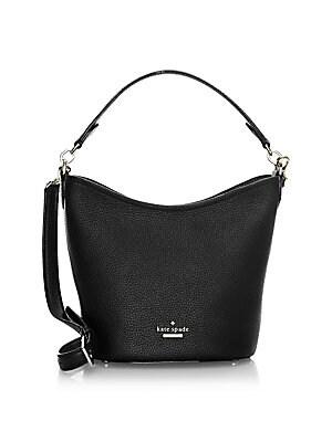 Kate Spade New York - Small Jackson Street Rubie Leather Shoulder Bag 9afe9a23651dd