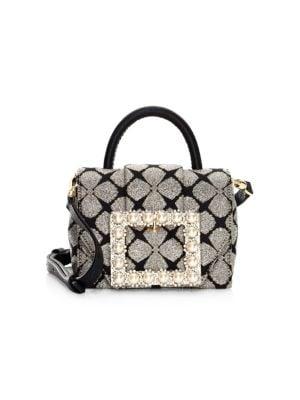 KATE SPADE Madison Knollwood Drive Buckled Hope Top-Handle Bag