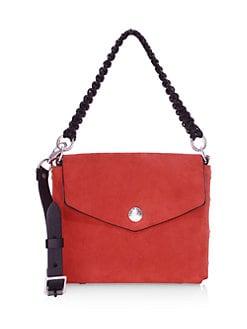 4004a1669 QUICK VIEW. Rag & Bone. Atlas Suede Shoulder Bag