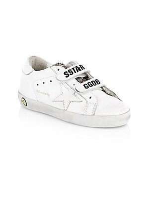 ce67095a0b8 Golden Goose Deluxe Brand - Kid s Old School Leather Sneakers - saks.com