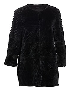 d8463d776 Sheared Beaver Fur Jacket BLACK. QUICK VIEW. Product image