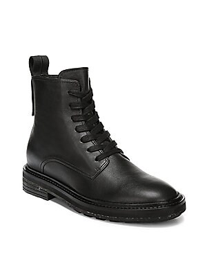 a115f562310 Cole Haan - Lexi Grand Stretch Leather and Woven Ankle Boots - saks.com
