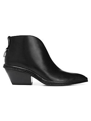 038532aee201 Via Spiga - Fianna Leather Booties - saks.com