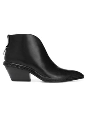 Via Spiga Boots Fianna Leather Booties