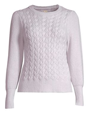 Rebecca Taylor Clothing Cableknit Pullover