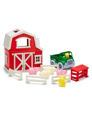 Green Toys Toy Farm Playset