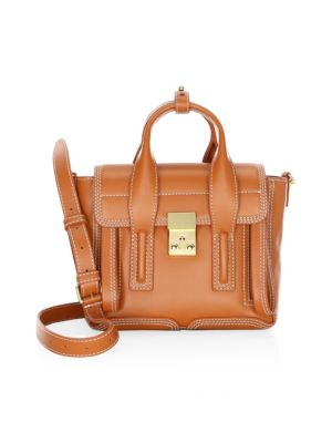 Image of 3.1 Phillip Lim Mini Pashli Leather Satchel