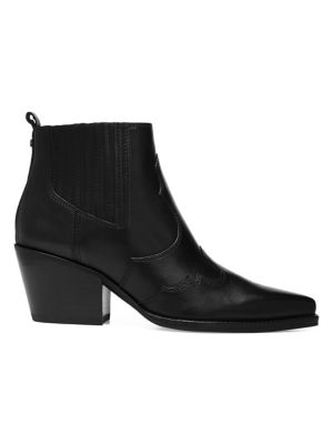 Winona Leather Booties by Sam Edelman