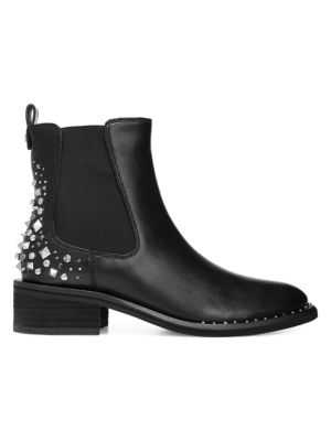 Dover Slip On Embellished Leather Boots by Sam Edelman