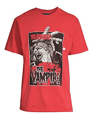 136d817277e The Kooples - Cotton Vampire Graphic Tee - saks.com