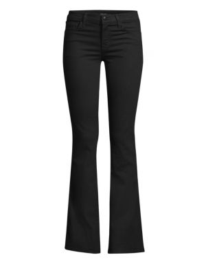 Sallie Mid Rise Bootcut Jeans In Vanity