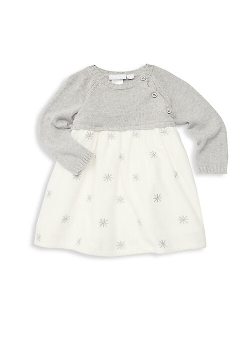 Baby Girls Velour Sweater Dress