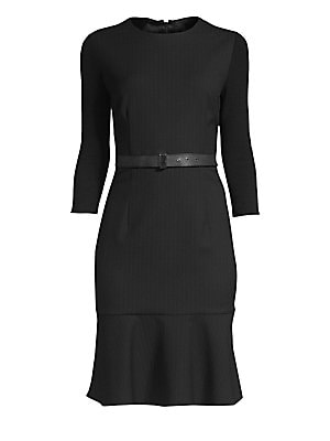 9fd7e0bc Elie Tahari - Storm Pinstripe Sheath Dress - saks.com