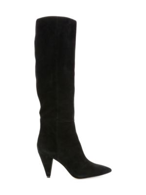 Rosslyn Mid Calf Boot in Black