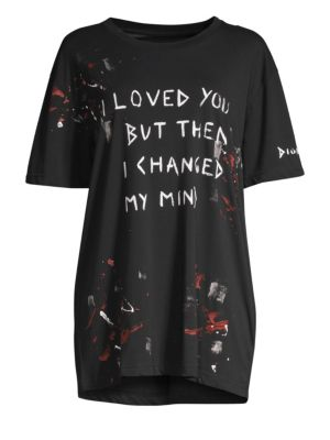Faith Connexion I Love You Cotton Graphic Tee