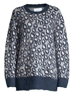 93d99c0a1b1f2 Current/Elliott - The Cali Leopard Print Sweater