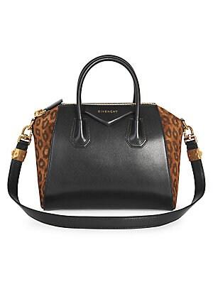 Givenchy - Antigona Medium Leather Satchel - saks.com f5f99b5a3d