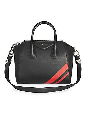 Givenchy - Antigona Small Leather Satchel - saks.com 145bdab74aeef