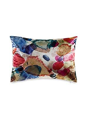 Callisto Home Velvet Foil Decorative Pillow Saks Enchanting Callisto Home Decorative Pillows