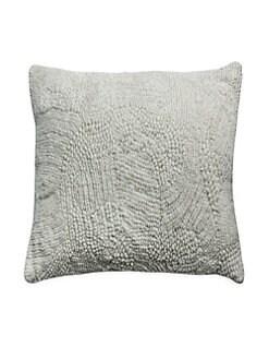 Callisto Home. Textured Velvet Decorative Pillow 2335ba356