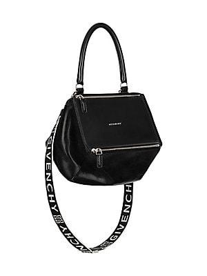 Givenchy - Pandora Small Pepe Leather Shoulder Bag - saks.com 3a7e4a194d56d