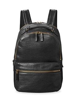 Shinola. Runwell Leather Backpack 330b6c6970ffc