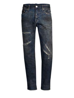 True Religion D Rocco Midnight Storm Slim-Fit Jeans