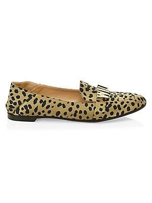 76ea1cf85670d Sam Edelman - Lorraine Leopard Print Calf Hair Loafers - saks.com