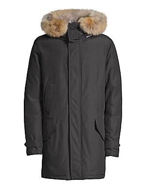 Woolrich John Rich   Bros. - Fur-Trimmed Arctic Parka - saks.com aa00877fe0