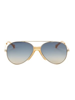 Colors In Optics Brasco 61mm Aviator Sunglasses