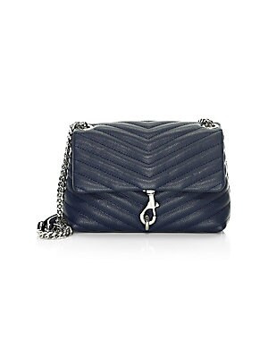 9c0430b1d5a541 Rebecca Minkoff - Small Love Chevron Quilted Leather Crossbody Bag ...