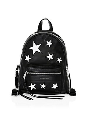 Star Patch Leather Mab Backpack by Rebecca Minkoff