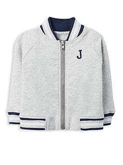 975c43dc335a Baby Boy s Bomber Jacket GREY. QUICK VIEW. Product image. QUICK VIEW. Janie  and Jack