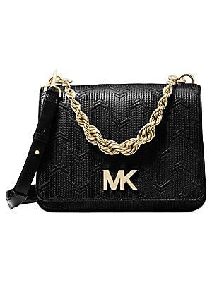 e63b7cfe1b17ff MICHAEL Michael Kors - Mott Twisted-Chain Crossbody Bag - saks.com