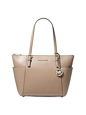 458775187817 MICHAEL Michael Kors - Isla Large Textured Grab Bag - saks.com