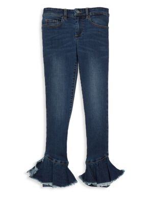 Girl's Ruffle Flare Jeans by Blank Nyc