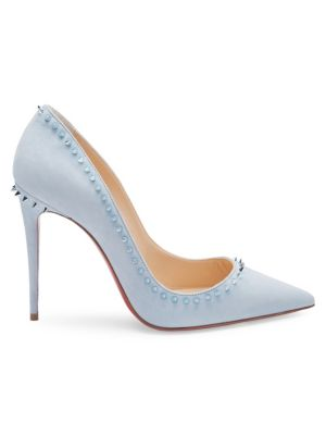Anjalina 85 Suede Pumps by Christian Louboutin