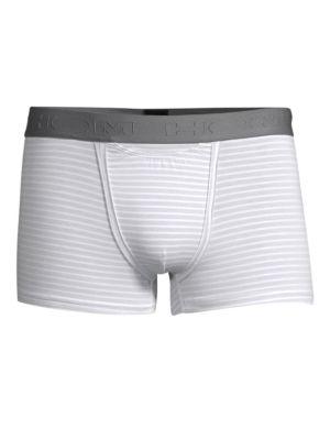 HOM Walker Boxer Briefs in White Light Grey