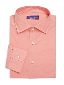 6a559179b Soft Cotton Dress Shirt CORAL. QUICK VIEW. Product image. QUICK VIEW. Ralph  Lauren Purple Label