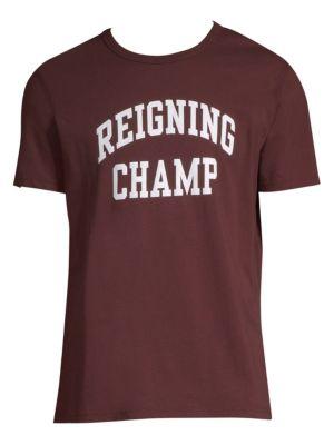 Reigning Champ Ivy Logo Tee