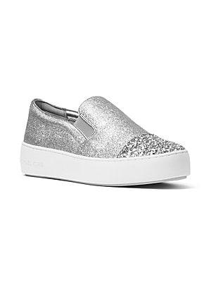 47b0450d8e MICHAEL Michael Kors - Keaton Signature Logo Slip-on Sneakers - saks.com