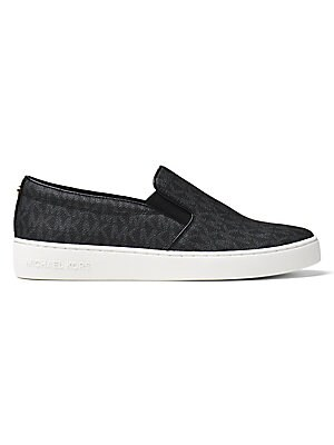 MICHAEL Michael Kors Keaton Signature Logo Slip on Sneakers