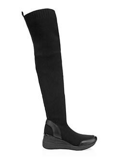 40e4d89dd0320 MICHAEL Michael Kors. Grover Knit Knee-High Boots