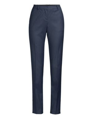 Tiluana 2 Straight Leg Trousers in Ink Blue