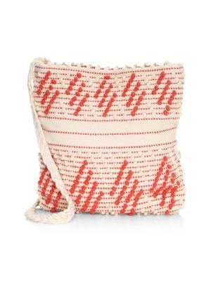 INVERNI Florinas Zigzag Shoulder Bag in Multi