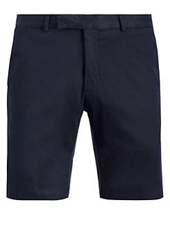 b202cbbf1 Ralph Lauren Purple Label. Slim-Fit Chino Shorts